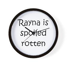 Cool Rayna Wall Clock