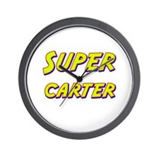 Super carter Wall Clock