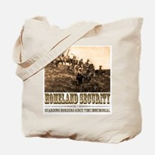 Homeland Security-Guarding Bo Tote Bag