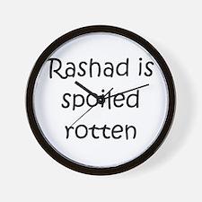 Funny Rashad Wall Clock