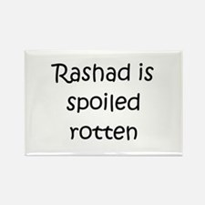 Cool Rashad Rectangle Magnet