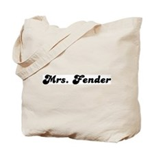 Mrs. Fender Tote Bag