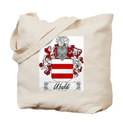 Ubaldi Family Crest Tote Bag
