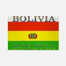 Bolivia Bolivian Flag Rectangle Magnet