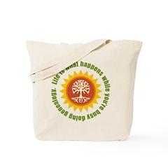 Life Happens Tote Bag