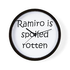 Cute Ramiro Wall Clock