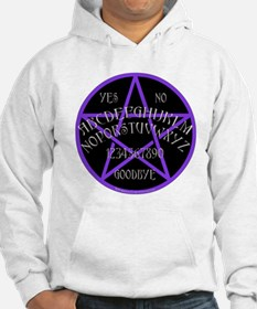 Purple Pentagram Board Jumper Hoody