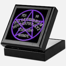 Purple Pentagram Board Keepsake Box