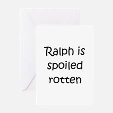 Cute Rotten ralph Greeting Card