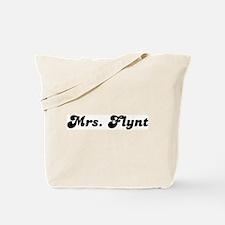 Mrs. Flynt Tote Bag