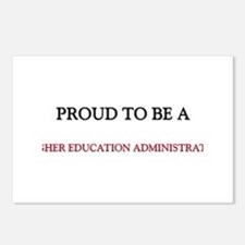 Proud to be a Higher Education Administrator Postc