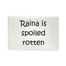 Cool Raina Rectangle Magnet