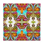 BUTTERFLY CIRCUS Tile Coaster