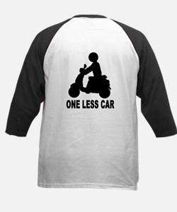One less car motor scooter Tee