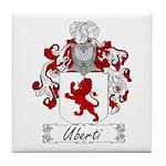 Uberti Family Crest Tile Coaster