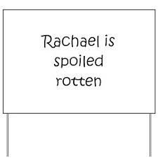 Cool Rachael Yard Sign