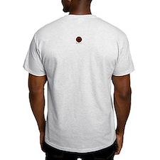 Wicked Pentagram Board Ash Grey T-Shirt