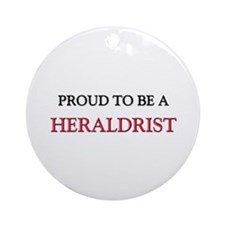 Proud to be a Herbalist Ornament (Round)