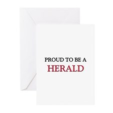 Proud to be a Herbalist Greeting Cards (Pk of 10)