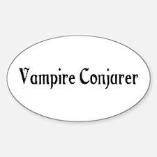 Vampire Conjurer Oval Decal