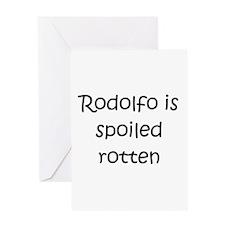 Cool Rodolfo Greeting Card