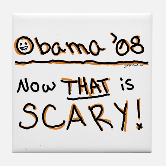 Obama Halloween Costume Tile Coaster