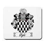 Ughi Family Crest Mousepad