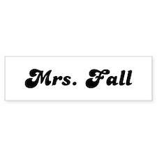 Mrs. Fancher Bumper Bumper Sticker