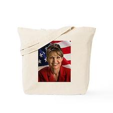 Cute Sarah palin Tote Bag