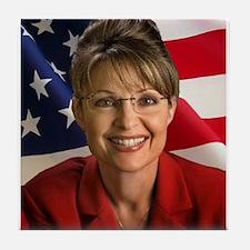 Cool Palin Tile Coaster