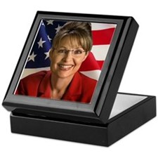 Cute Sarah palin Keepsake Box