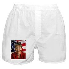 Cute Sarah palin hockey mom Boxer Shorts