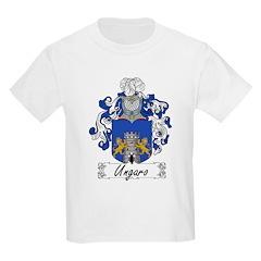 Ungaro Family Crest Kids T-Shirt