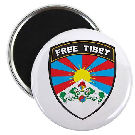 Free Tibet Magnet