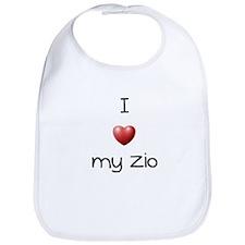 I Love my Zio Bib
