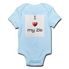 I Love my Zio Infant Bodysuit