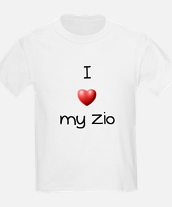 I Love my Zio T-Shirt