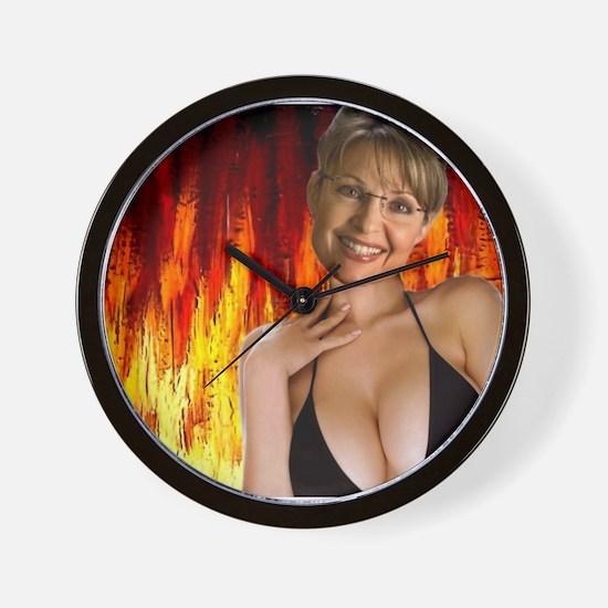 Unique Hot mom Wall Clock