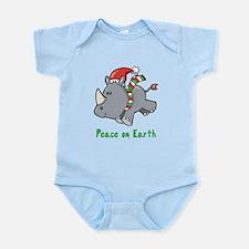 Peace Rhino Infant Bodysuit