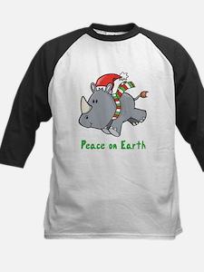 Peace Rhino Kids Baseball Jersey