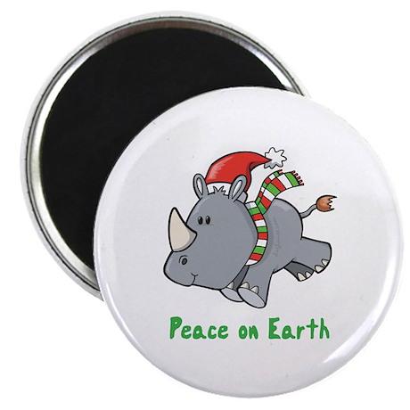 Peace Rhino Magnet