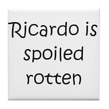 Cool Ricardo Tile Coaster