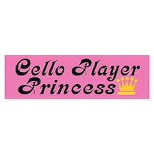 Cello Princess Bumper Car Sticker