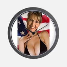 Cute Palin Wall Clock