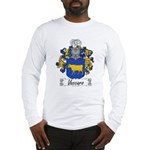 Vaccaro Family Crest Long Sleeve T-Shirt