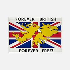Funny Falkland Rectangle Magnet
