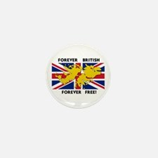 Unique British Mini Button