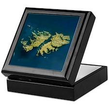 Falkland islands Keepsake Box