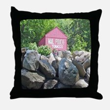 Barn and Olde Walls Throw Pillow