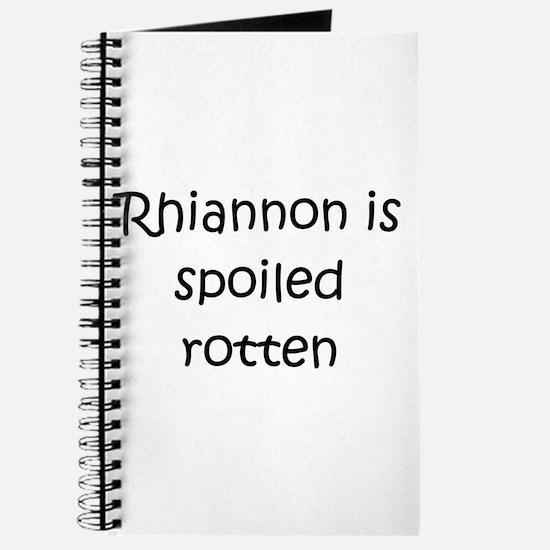 Cute Rhiannon Journal